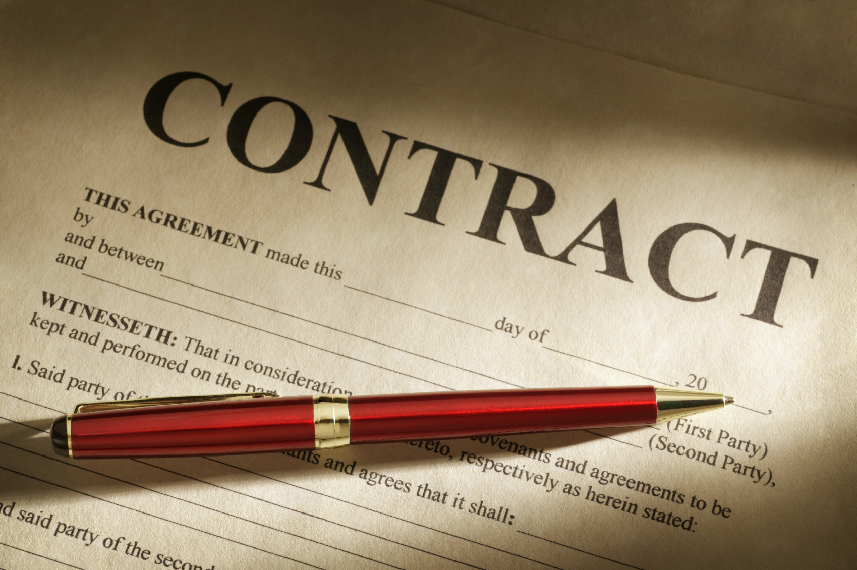Infinity Management Group Contract